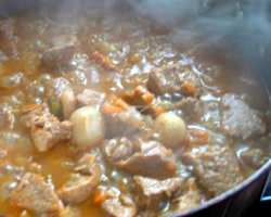 Agnello ai funghi